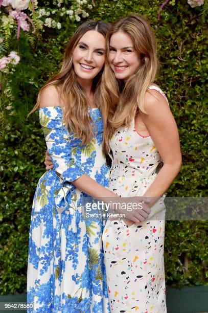 Elizabeth Chambers and Claiborne Swanson Frank attend Claiborne Swanson Frank Mother and Child Launch Event By Cle de Peau Beaute and Carolina...
