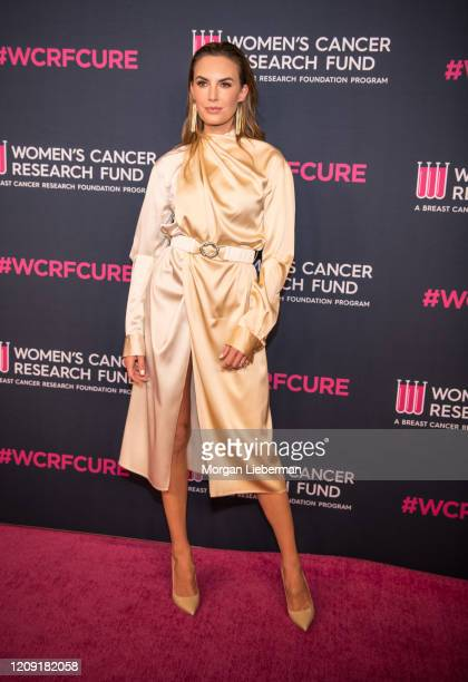 Elizabeth Chambers arrives at the Women's Cancer Research Fund's 'An Unforgettable Evening' at the Beverly Wilshire, A Four Seasons Hotel on February...