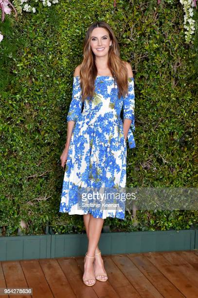 Elizabeth Chambers attends Claiborne Swanson Frank Mother and Child Launch Event By Cle de Peau Beaute and Carolina Herrera at Hotel Bel Air on May 2...