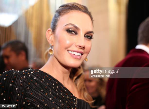 Elizabeth Chambers attends the 90th Annual Academy Awards at Hollywood Highland Center on March 4 2018 in Hollywood California