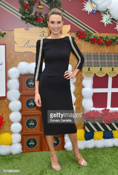 Elizabeth Chambers attends the Brooks Brothers and St Jude Children's Research Hospital Annual Holiday Celebration at the Beverly Wilshire Four...