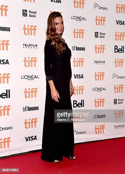 Elizabeth Chambers attends the Nocturnal Animals premiere during the 2016 Toronto International Film Festival at Princess of Wales Theatre on...