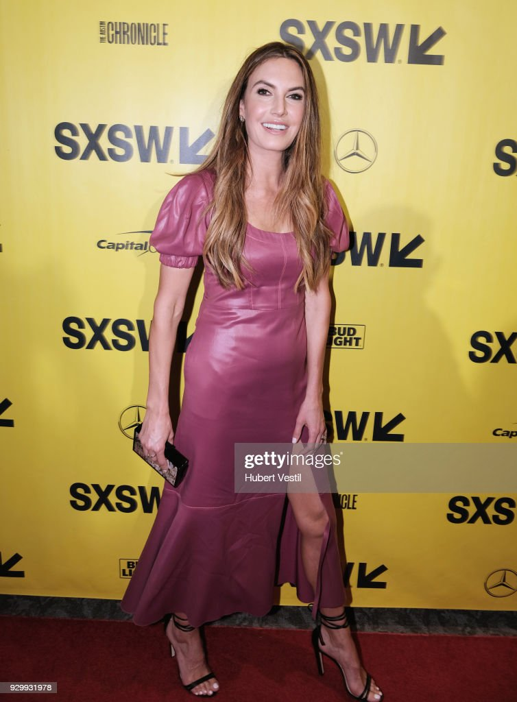 Elizabeth Chambers attends the premiere of 'Final Portrait' during SXSW at Stateside Theater on March 9, 2018 in Austin, Texas.