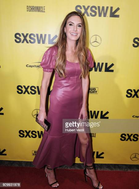 """Elizabeth Chambers attends the premiere of """"Final Portrait"""" during SXSW at Stateside Theater on March 9, 2018 in Austin, Texas."""