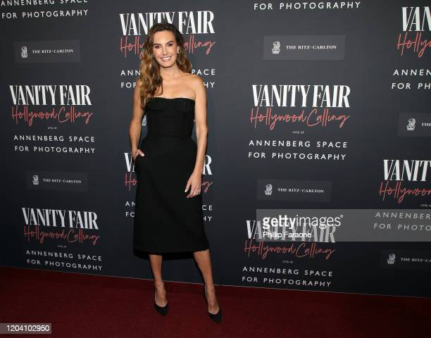 Elizabeth Chambers attends the Vanity Fair and Annenberg Space for Photography's Celebration of The Opening of Vanity Fair: Hollywood Calling,...