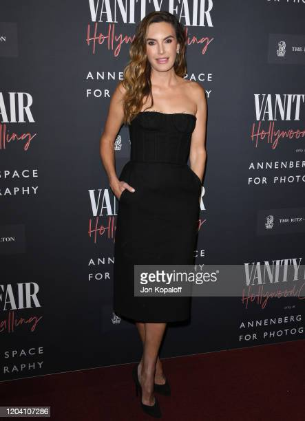 Elizabeth Chambers attends Vanity Fair: Hollywood Calling - The Stars, The Parties And The Power Brokers at Annenberg Space For Photography on...