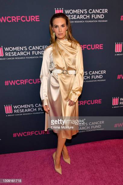 """Elizabeth Chambers attends WCRF's """"An Unforgettable Evening"""" at Beverly Wilshire, A Four Seasons Hotel on February 27, 2020 in Beverly Hills,..."""