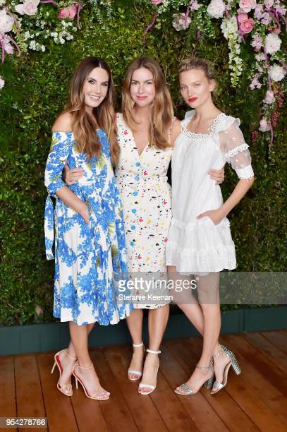 Elizabeth Chambers Claiborne Swanson Frank and Amanda Booth attend Claiborne Swanson Frank Mother and Child Launch Event By Cle de Peau Beaute and...