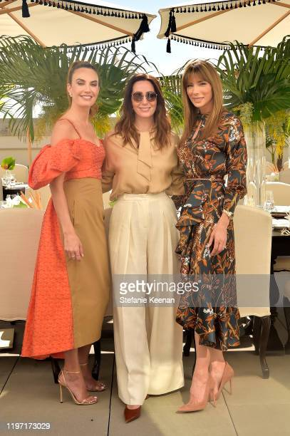 Elizabeth Chambers, Zoe de Givenchy and Jennifer Flavin Stallone attend Academy Museum of Motion Pictures Luminaries Luncheon Supported by JP Morgan...