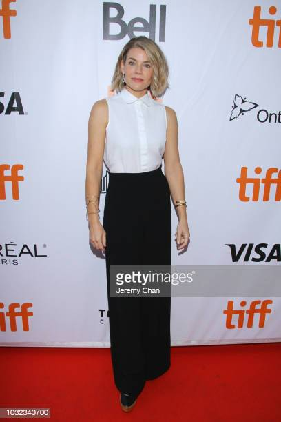 """Elizabeth Chomko attends the """"What They Had"""" premiere during 2018 Toronto International Film Festival at Roy Thomson Hall on September 12, 2018 in..."""