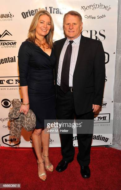 Elizabeth Clapp and actor Gordon Clapp attend the 2nd annual Borgnine Movie Star Gala honoring actor Joe Mantegna at the Sportman's Lodge on February...