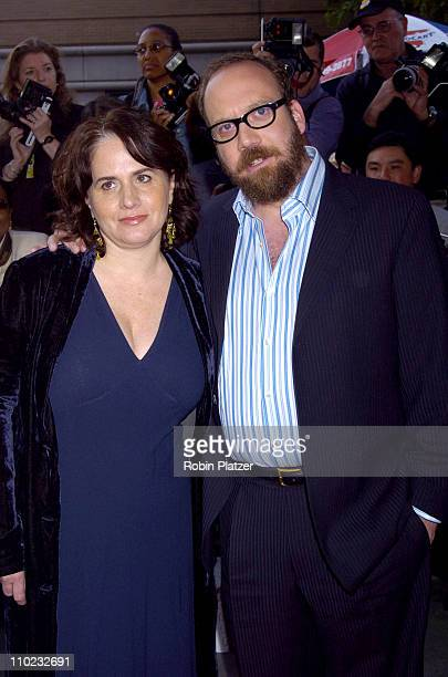 Elizabeth Cohen and Paul Giamatti during Cinderella Man New York City Premiere Arrivals at Loews Lincoln Square Theatre in New York City New York...