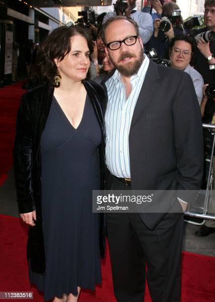 Elizabeth Cohen and Paul Giamatti during Cinderella Man New York City Premiere Outside Arrivals at Loews Lincoln Square Theater in New York City New...