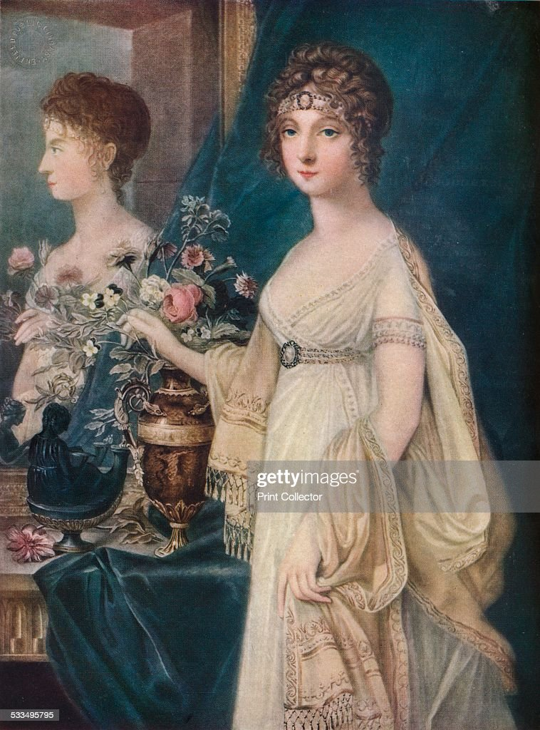 Elizabeth, Consort of Alexander I, 19th century, 1917. Artist: Charles Turner : News Photo