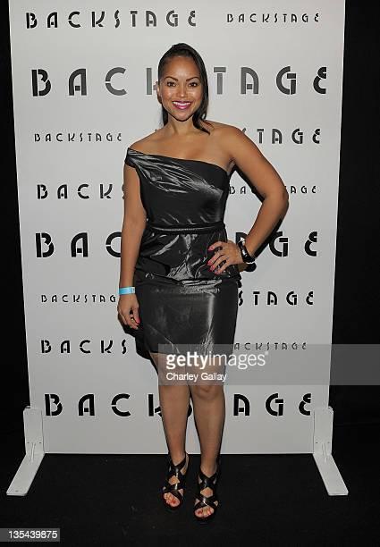 Elizabeth Covington attends Backstage Presents Allison Melnick at Trousdale on December 9 2011 in West Hollywood California