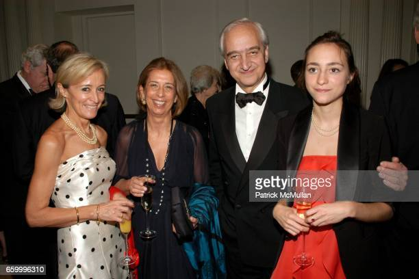 Elizabeth Cros Isabel Mane JeanClaude Cros and Lolita Cros attend FRENCHAMERICAN AID FOR CHILDREN SixtyEighth Annual BAL des BERCEAUX at The Plaza on...