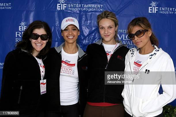 Elizabeth Crystal Jessica Alba Beau Garrett and Eva Mendes