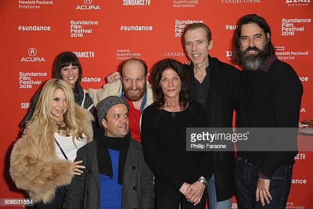 Elizabeth Daily Devin Sidell Pancho Moler David Ury Meg Foster Richard Brake and Jeff Daniel Phillips attend the 31 Premiere during the 2016 Sundance...