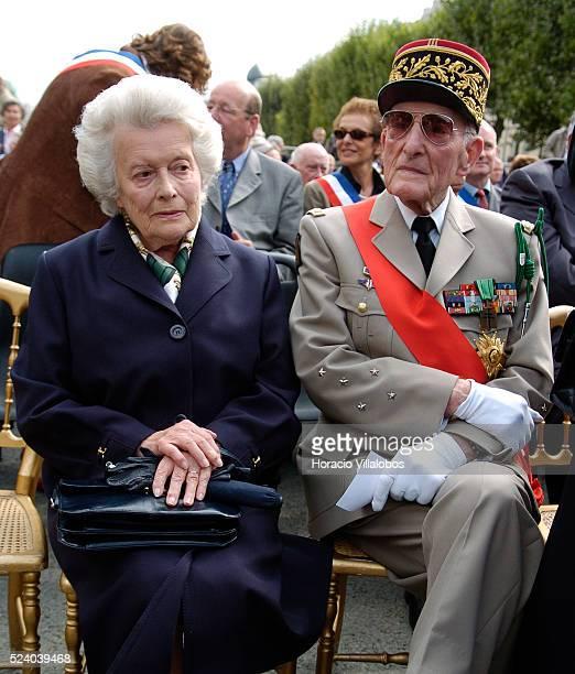 Elizabeth de Gaulle Charles de Gaulle's daughter and her husband French General Alain de Boissieu and ex Chancelier de l'Ordre de la Liberation...