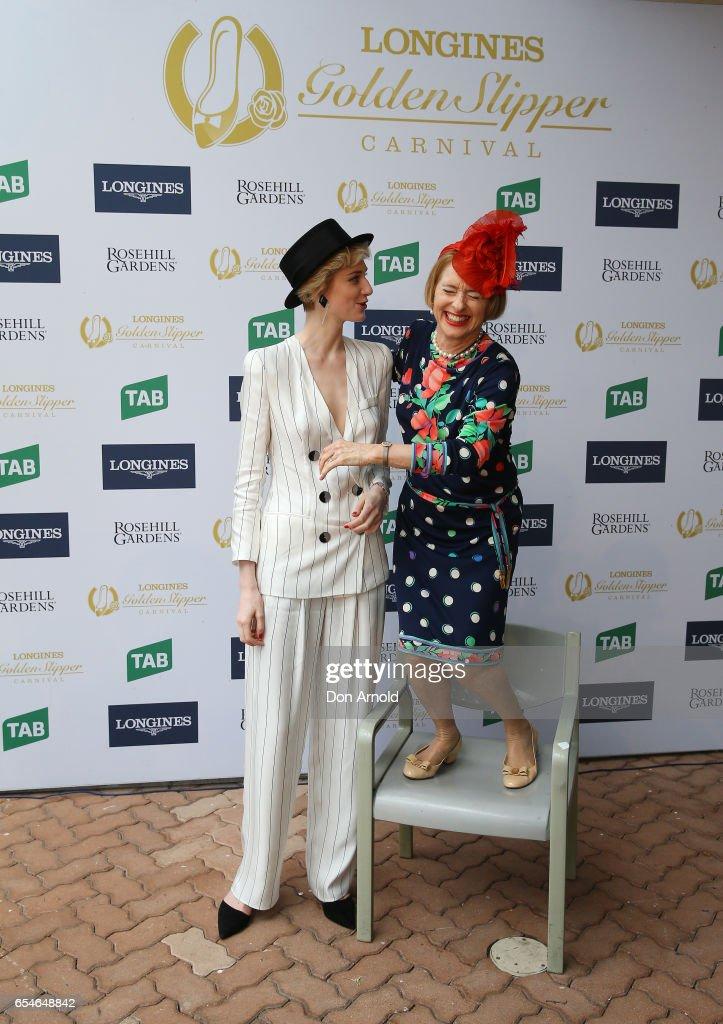 Celebrities Attend 2017 Golden Slipper Day