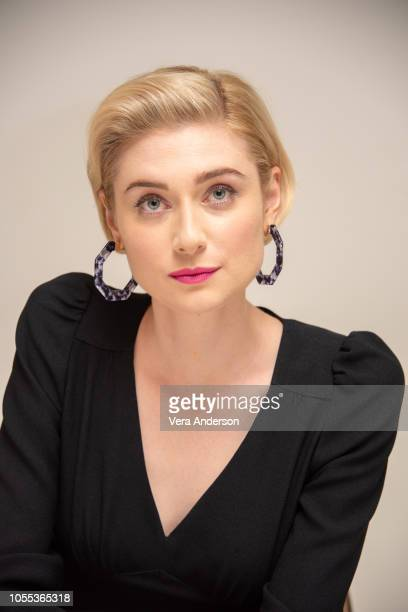 """Elizabeth Debicki at the """"Widows"""" Press Conference at the Four Seasons Hotel on October 29, 2018 in Beverly Hills, California."""