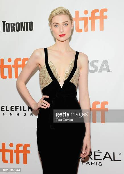 Elizabeth Debicki attend the 2018 Toronto International Film Festival premiere of 'Widows' at Roy Thomson Hall on September 8 2018 in Toronto Canada
