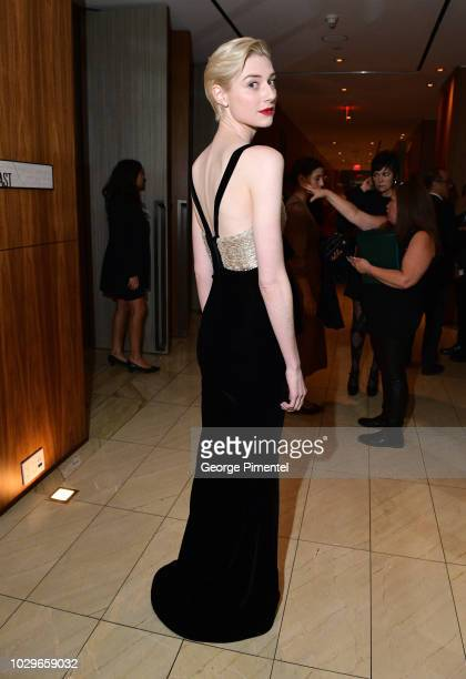Elizabeth Debicki attends 2018 HFPA and InStyle's TIFF Celebration at the Four Seasons Hotel on September 8 2018 in Toronto Canada