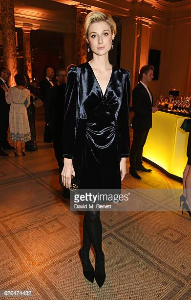 Elizabeth Debicki attends as PORTER hosts a special performance of Letters Live in celebration of their Incredible Women of 2016 at The VA on...
