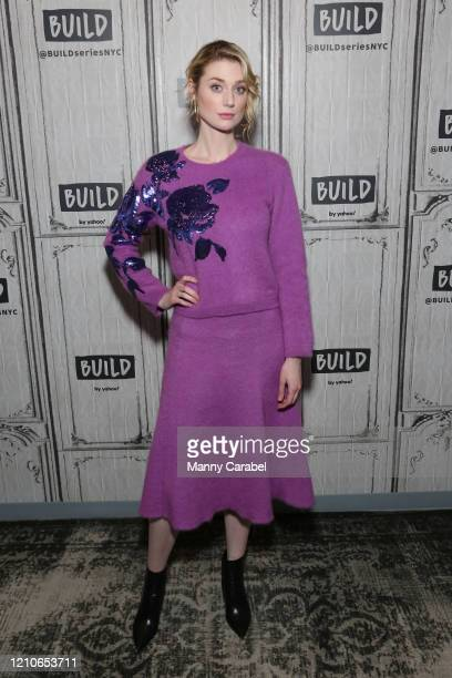 """Elizabeth Debicki attends Build Series to discuss her role in the film """"The Burnt Orange Heresy"""" at Build Studio on March 05, 2020 in New York City."""