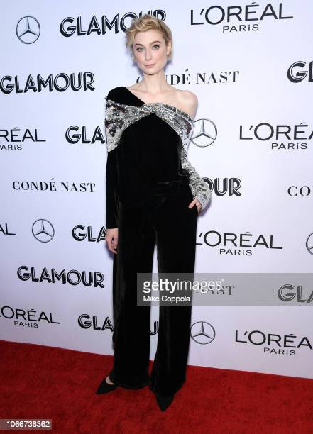 Elizabeth Debicki attends Glamour Women of the Year Awards 2018 at Spring Studios on November 12 2018 in New York City