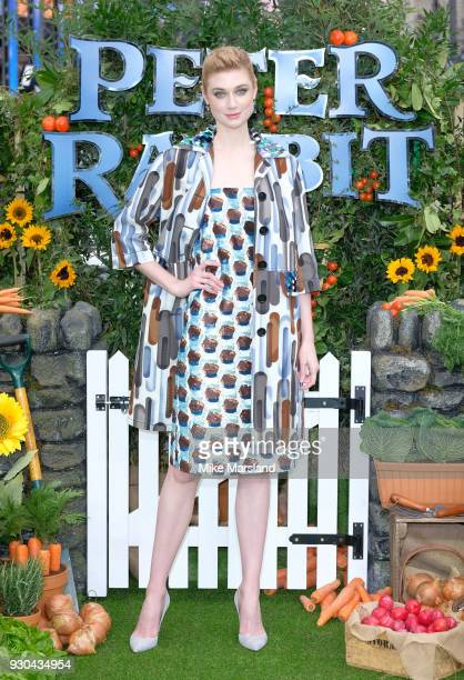 Elizabeth Debicki attends 'Peter Rabbit' UK Gala Screening at Vue West End on March 10 2018 in London England