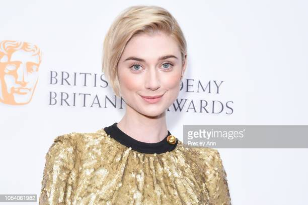 Elizabeth Debicki attends the 2018 British Academy Britannia Awards presented by Jaguar Land Rover and American Airlines at The Beverly Hilton Hotel...