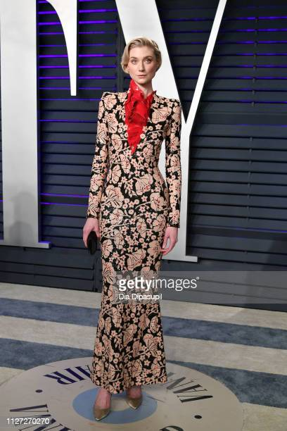 Elizabeth Debicki attends the 2019 Vanity Fair Oscar Party hosted by Radhika Jones at Wallis Annenberg Center for the Performing Arts on February 24,...