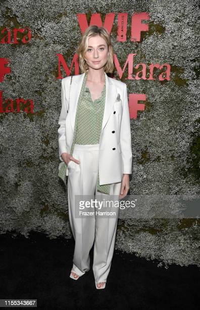 Elizabeth Debicki attends the 2019 Women In Film Max Mara Face Of The Future celebrating Elizabeth Debicki at Chateau Marmont on June 11 2019 in Los...