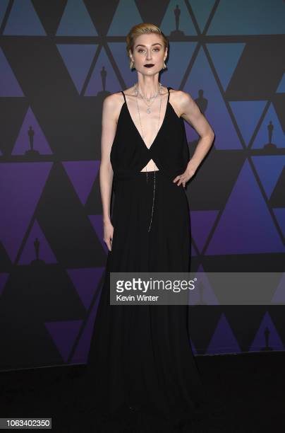 Elizabeth Debicki attends the Academy of Motion Picture Arts and Sciences' 10th annual Governors Awards at The Ray Dolby Ballroom at Hollywood &...