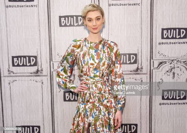 Elizabeth Debicki attends the Build Series to discuss the new film 'Widows' at Build Studio on November 12, 2018 in New York City.