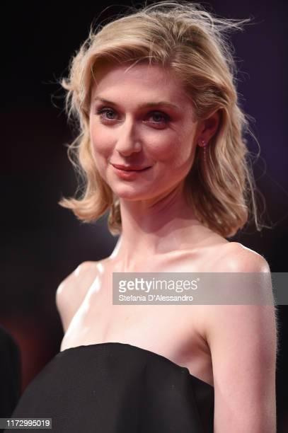 "Elizabeth Debicki attends ""The Burnt Orange Heresy"" photocall during the 76th Venice Film Festival at Sala Grande on September 07, 2019 in Venice,..."