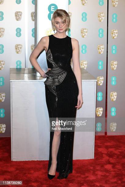 Elizabeth Debicki attends the EE British Academy Film Awards at Royal Albert Hall on February 10 2019 in London England