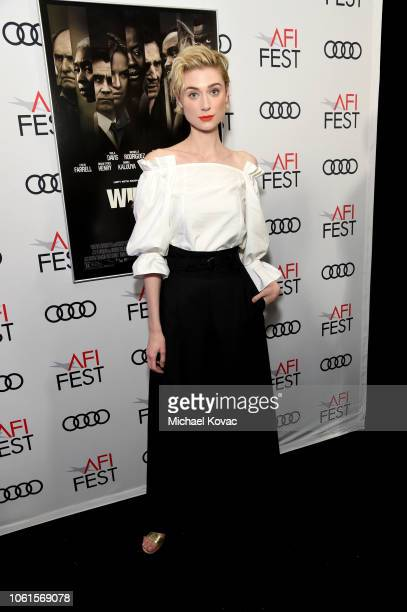 Elizabeth Debicki attends the gala screening of Widows during AFI FEST 2018 at the TCL Chinese Theatre on November 14 2018 in Los Angeles California