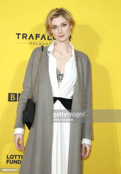 Elizabeth Debicki attends the 'Grace Jones Bloodlight And Bami' UK premiere at BFI Southbank on October 25 2017 in London England