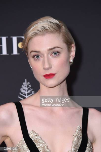 Elizabeth Debicki attends The Hollywood Foreign Press Association and InStyle Party during 2018 Toronto International Film Festival at Four Seasons...