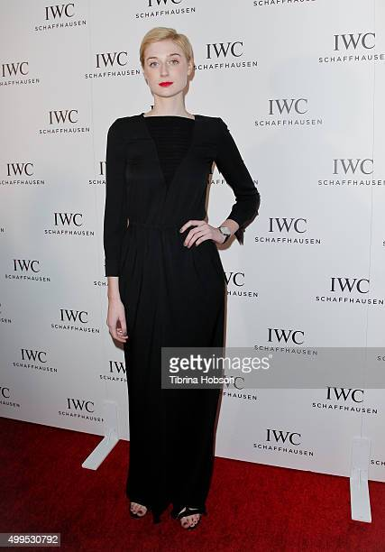 Elizabeth Debicki attends the IWC Schaffhausen Rodeo Drive grand opening at IWC Shaffhausen on December 1 2015 in Beverly Hills California