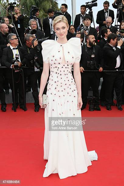 Elizabeth Debicki attends the 'Macbeth' premiere during the 68th annual Cannes Film Festival on May 23 2015 in Cannes France
