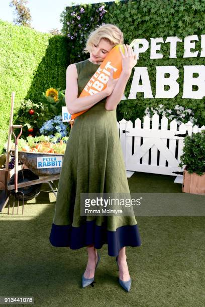 Elizabeth Debicki attends the photo call for Columbia Pictures' 'Peter Rabbit' at The London Hotel on February 2 2018 in West Hollywood California