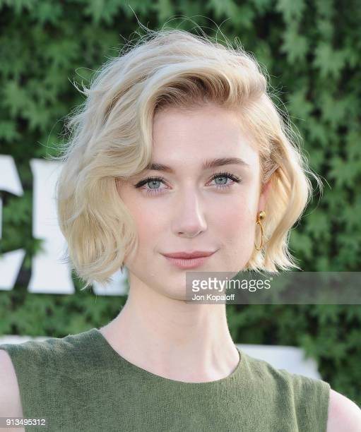 """Elizabeth Debicki attends the photo call for Columbia Pictures' """"Peter Rabbit"""" at The London Hotel on February 2, 2018 in West Hollywood, California."""