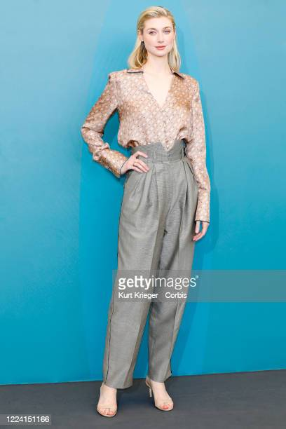 Elizabeth Debicki attends the photo call for 'The Burnt Orange Heresy' during the 76th Venice Film Festival on September 7 2019 in Venice Italy