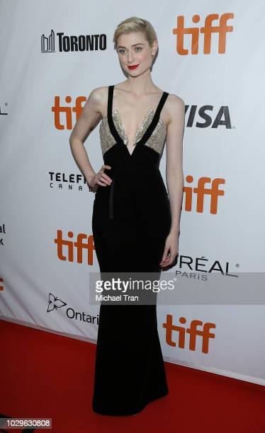 Elizabeth Debicki attends the premiere of 'Widows' during the 2018 Toronto International Film Festival held on September 8 2018 in Toronto Canada
