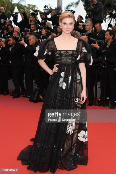 Elizabeth Debicki attends the screening of Solo A Star Wars Story during the 71st annual Cannes Film Festival at Palais des Festivals on May 15 2018...