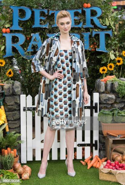 Elizabeth Debicki attends the UK Gala Screening of 'Peter Rabbit' at Vue West End on March 11 2018 in London England