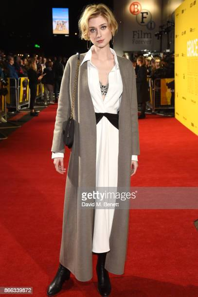 Elizabeth Debicki attends the UK Premiere of 'Grace Jones Bloodlight And Bami' at the BFI Southbank on October 25 2017 in London England